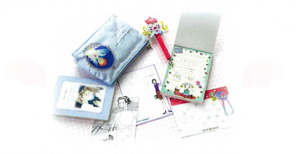 「天使なんかじゃない」、「ご近所物語」のステーショナリーシリーズが発売!